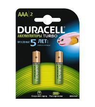 DURACELL HR03-2BL (2/20/12800) Тип: AAA (LR03) (Кол-во в уп. 2шт.)