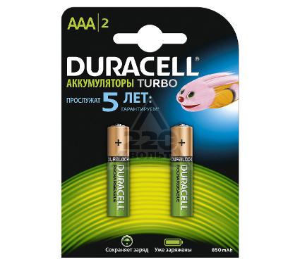 Купить Аккумулятор DURACELL HR03-2BL (2/20/12800) 2шт, батарейки, аккумуляторы и зарядные устройства