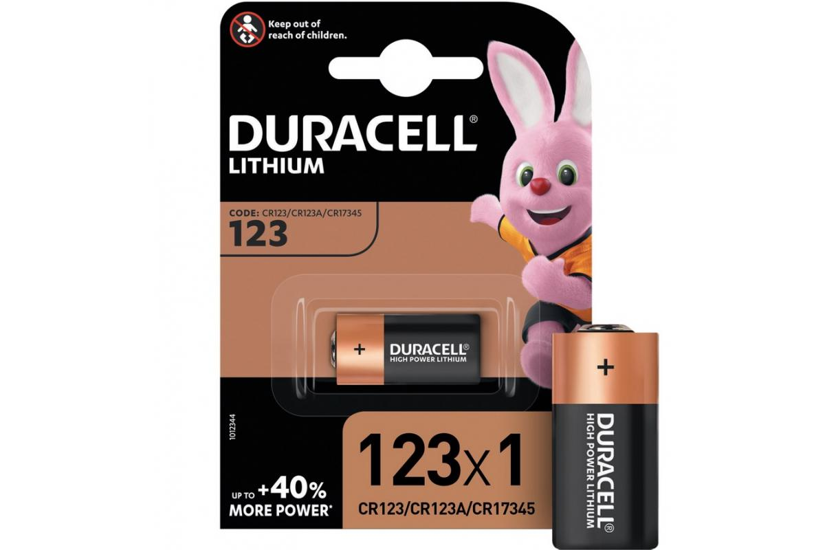 цены Батарейка Duracell Cr123 ultra (10/50/6000)