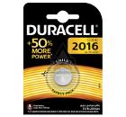 Батарейка DURACELL CR2016 (10/100/12800)