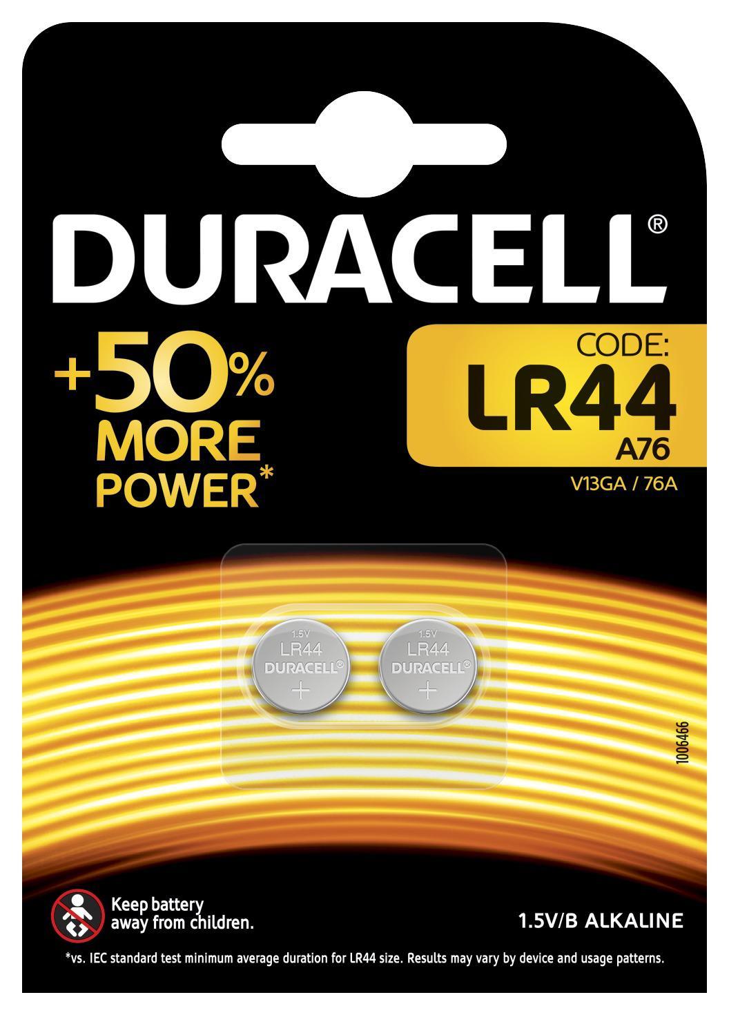 Батарейка Duracell New lr44-2bl (20/200) 2шт duracell lr6 2bl turbo 2шт aa