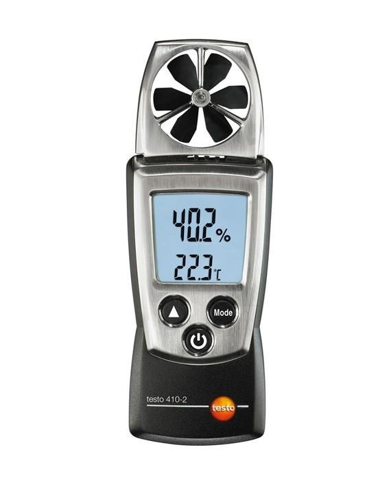 Анемометр Testo 410-2 анемометр testo 417 1 комплект