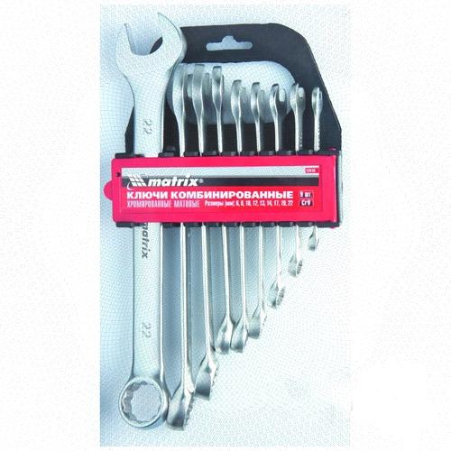 Набор гаечных ключей Matrix 15410 (6 - 22 мм) matrix 48 22 70493