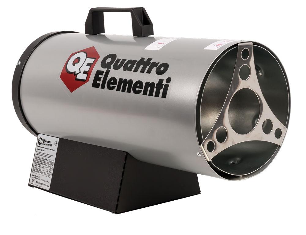 Купить со скидкой Газовая тепловая пушка Quattro elementi Qe-10g new