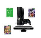 Игровая приставка MICROSOFT Xbox 360 S 4GB Kinect Console + Kinect Adventures + Dance Central 3 + Xb
