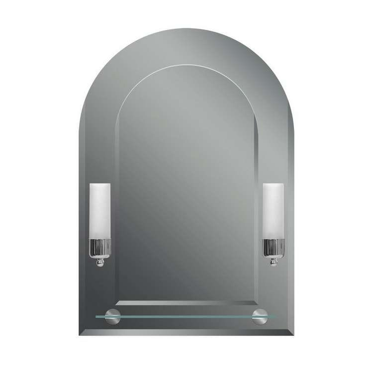 Зеркало для ванной с подсветкой Dubiel vitrum Tulipan vi зеркало для ванной с подсветкой dubiel vitrum wenecja 80х75