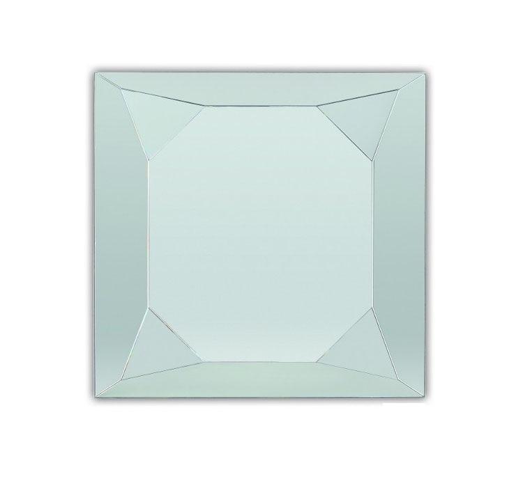 Зеркало Dubiel vitrum Diamante silver 90х90 зеркало в гостиную dubiel vitrum opus c