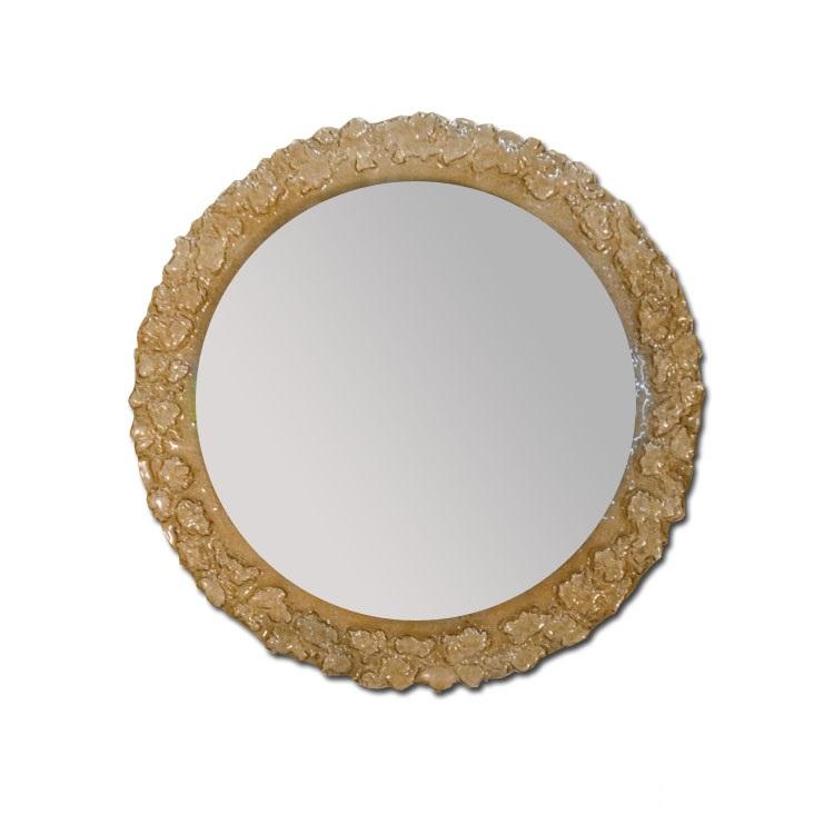 Зеркало Dubiel vitrum Pompea round smoked 70х70 зеркало в гостиную dubiel vitrum opus c