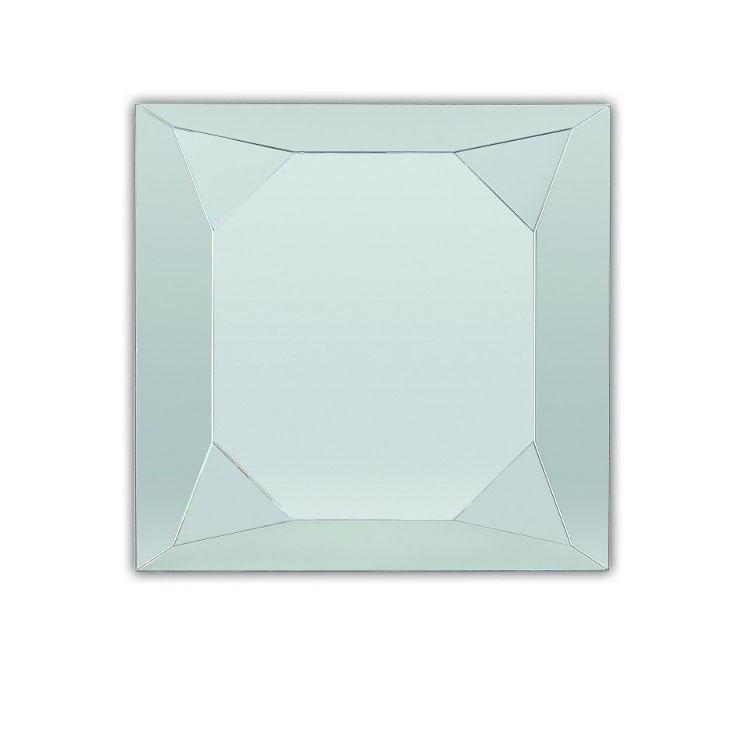 Зеркало Dubiel vitrum Diamante silver 70x70 зеркало dubiel vitrum loki