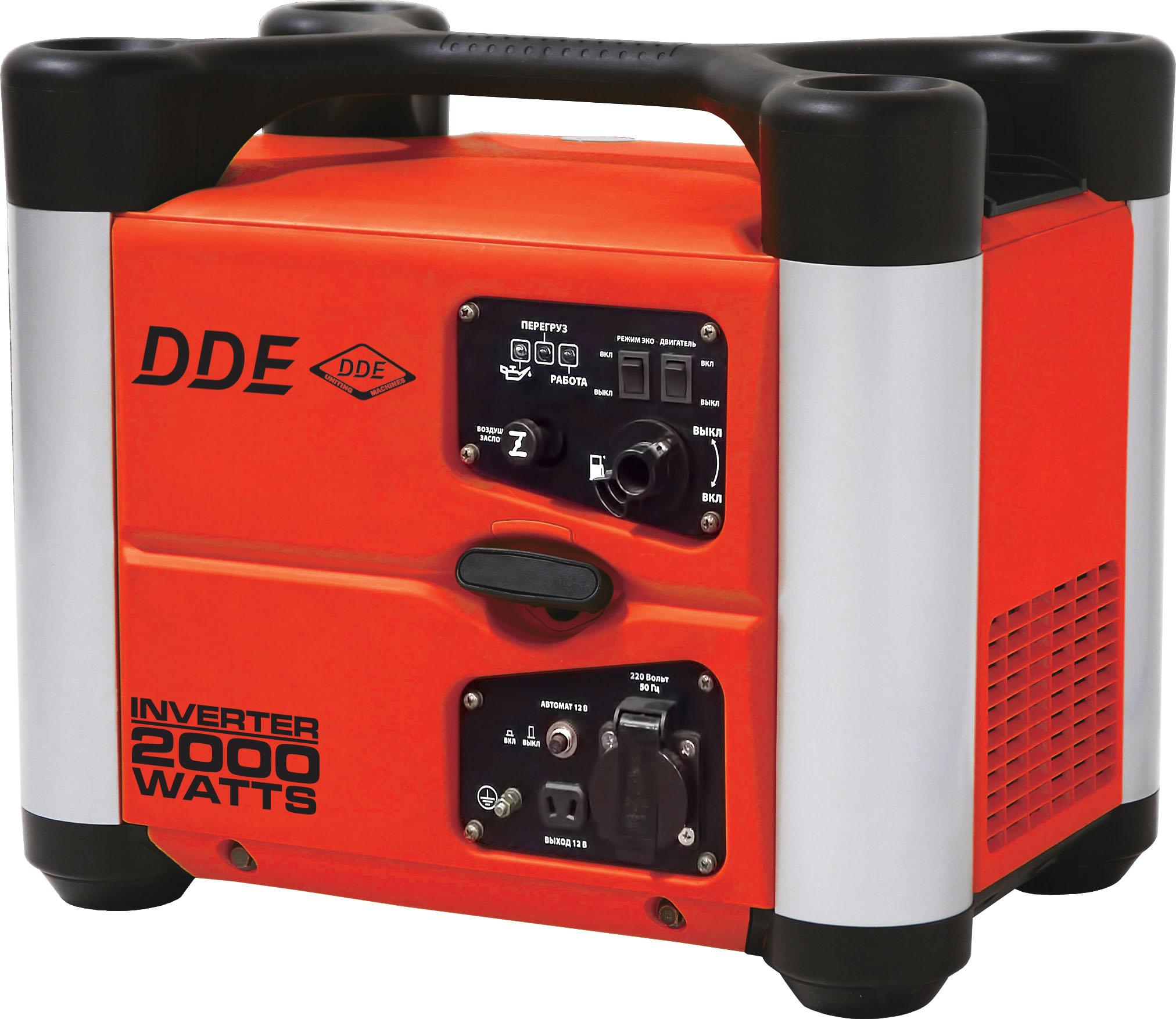 Бензиновый генератор Dde Dpg2051si цена и фото