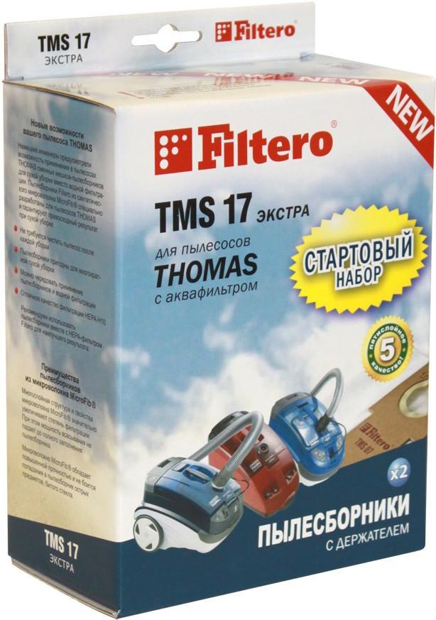 Мешок Filtero Tms 17 Экстра старт.набор держ.