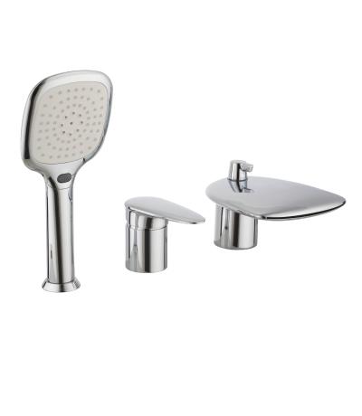 Смеситель для ванны Lemark Status lm4445c смеситель для ванны коллекция magiс lm3451c однорычажный хром lemark лемарк