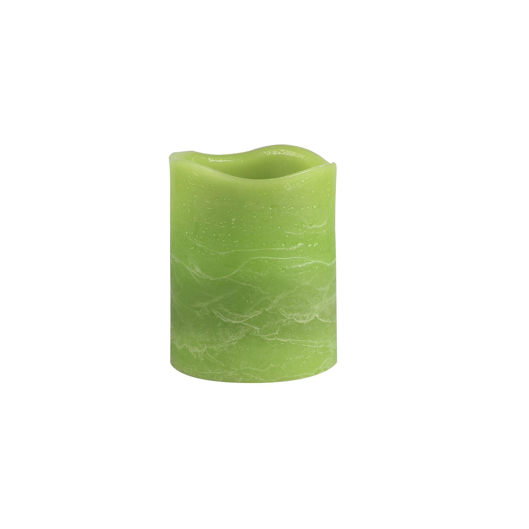 Светильник декоративный Ranex Свеча 100 мм зеленый