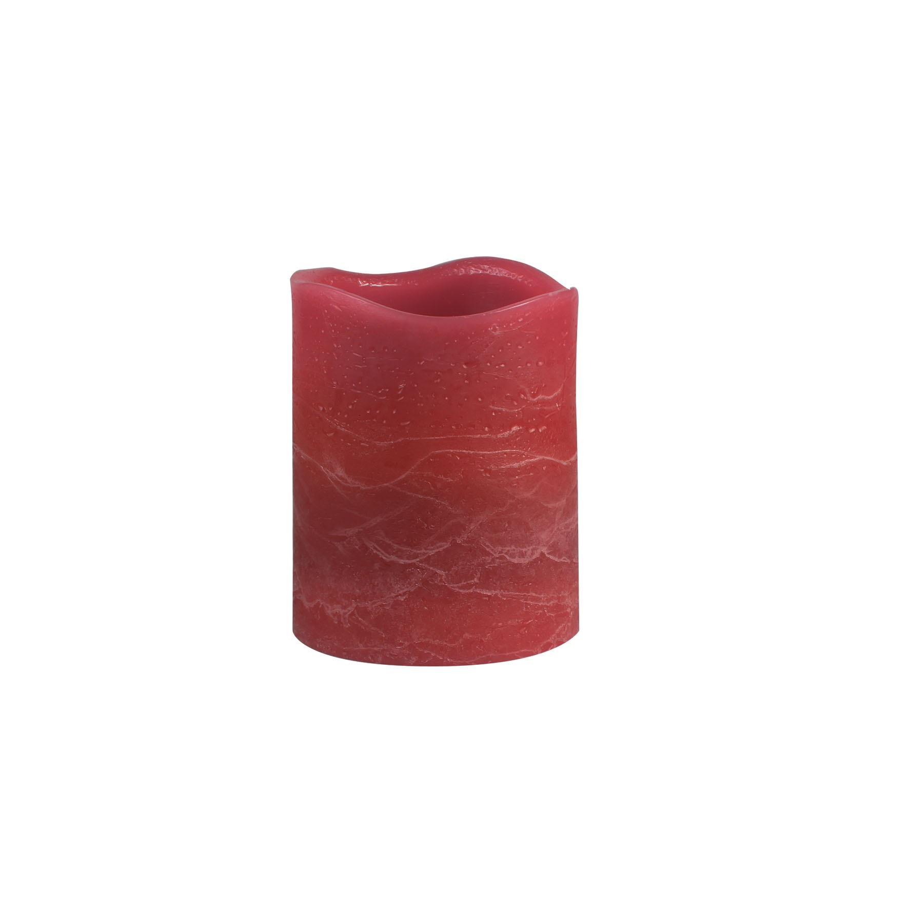 Светильник декоративный Ranex Свеча 100 мм красный
