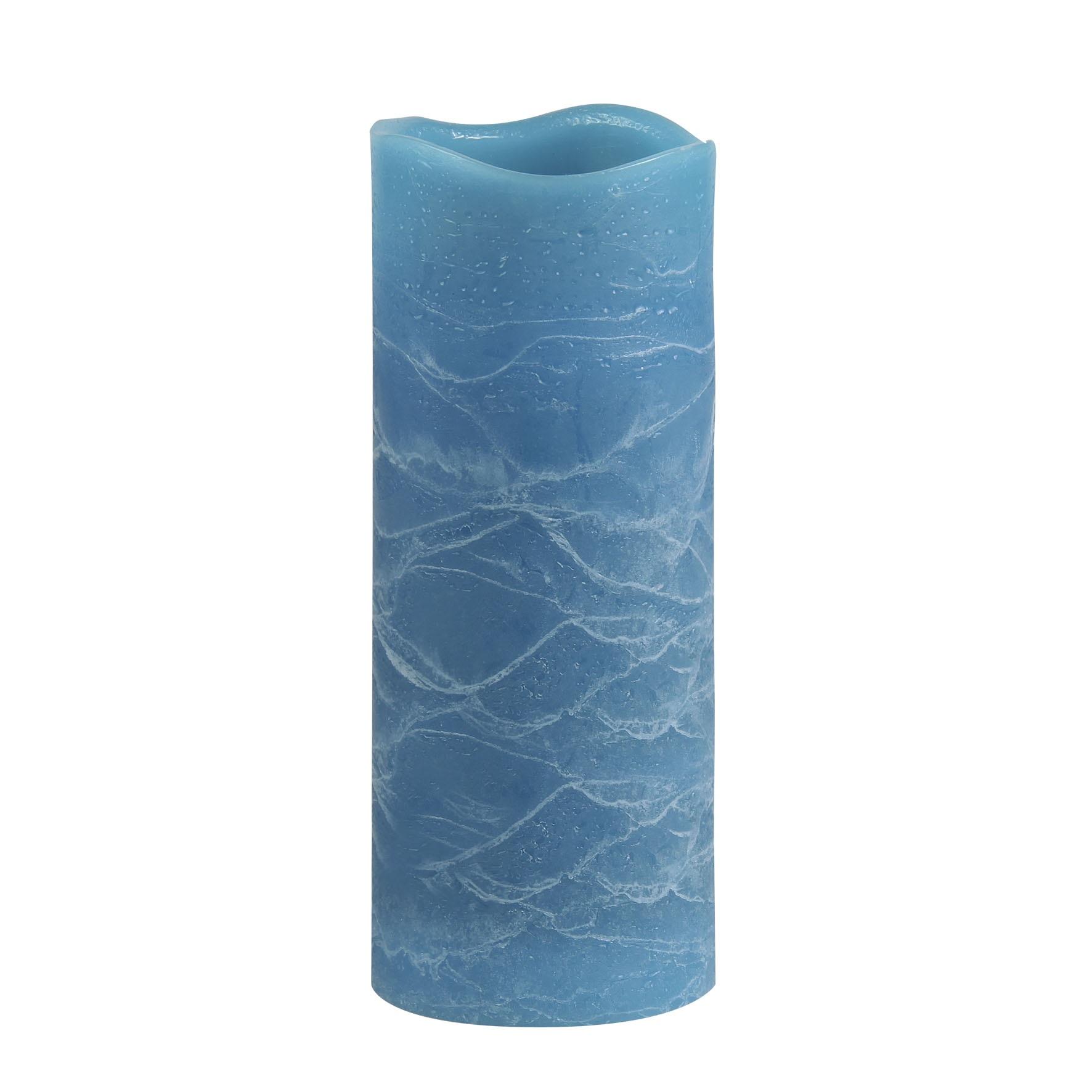 Светильник декоративный Ranex Свеча 200 мм голубой