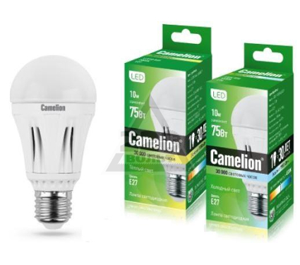 Лампа светодиодная CAMELION LED 8.5-A60/830/Е27