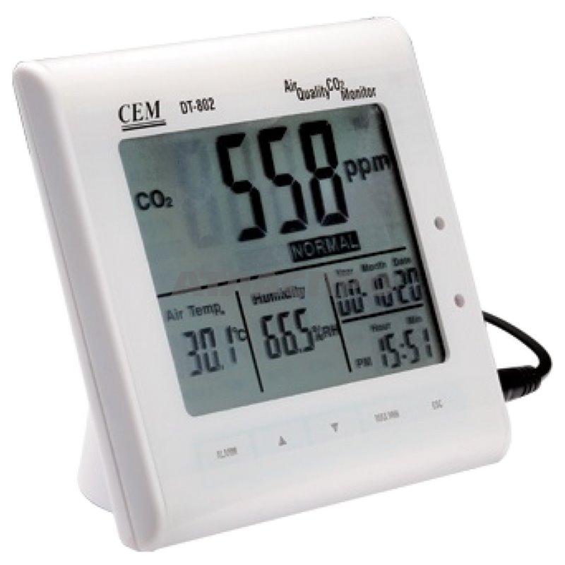 Анализатор воздуха Cem Dt-802