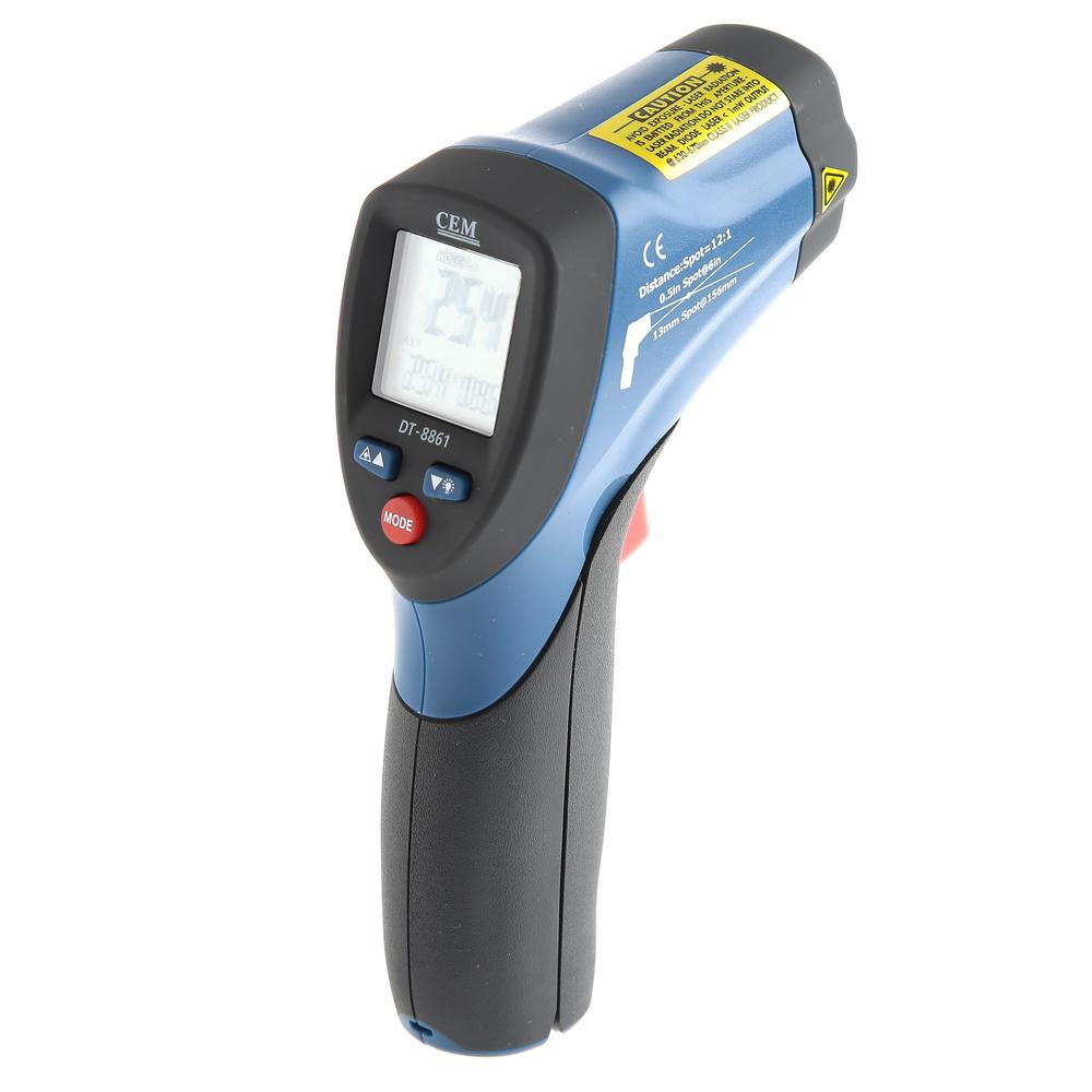 Фото 2/3 DT-8861, Пирометр, инфракрасный бесконтактный термометр