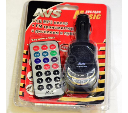FM-трансмиттер AVS F-506