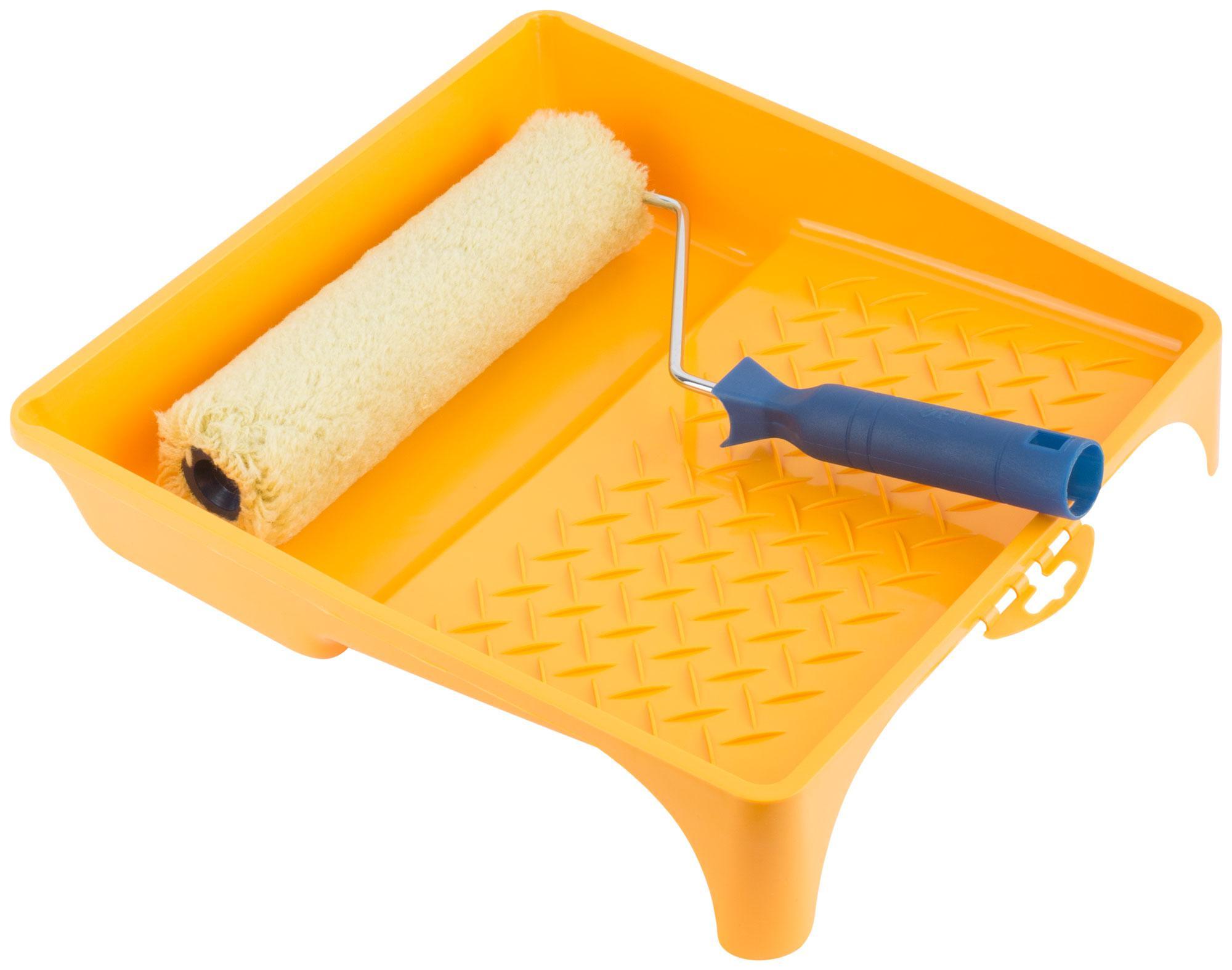 Набор малярный Fit 03020 набор малярный korvus валик поролон ванночка ролик
