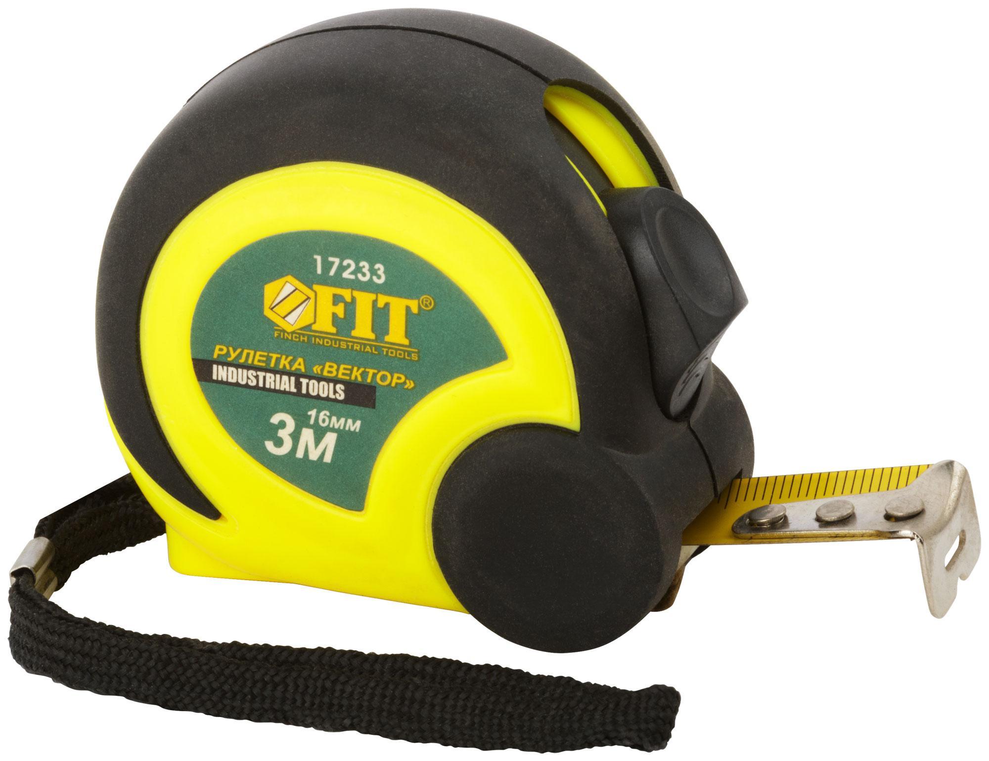 Рулетка Fit 17233
