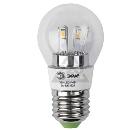 Лампа светодиодная ЭРА 360-LED P45-5w-827-E27