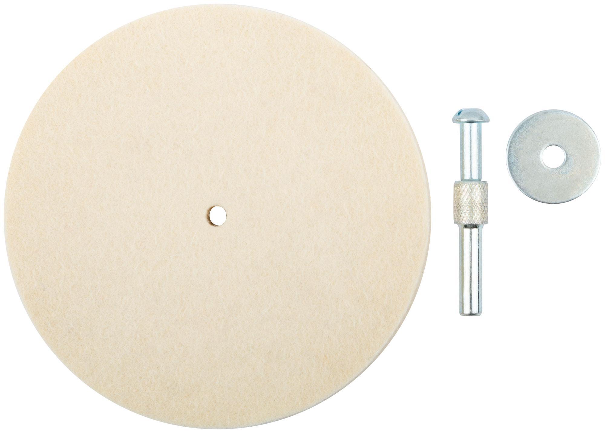 Круг полировальный Fit 115 мм (38703) 1 шт.