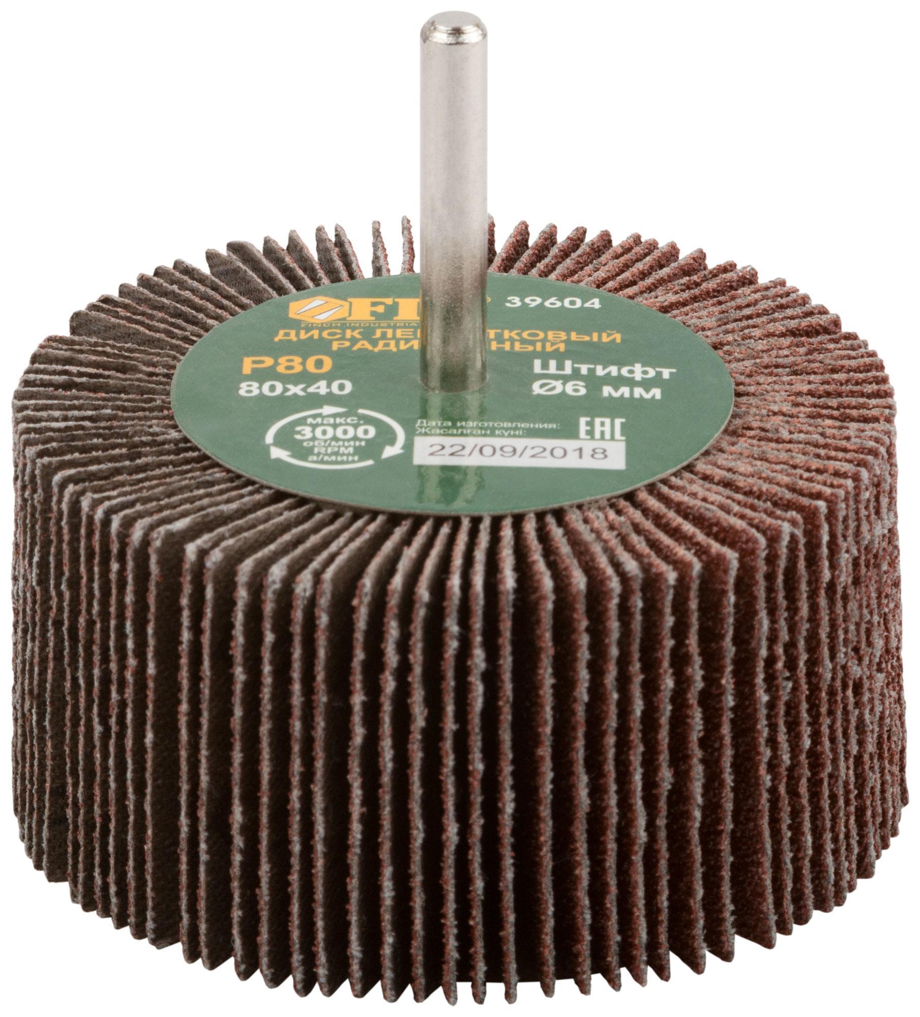 Круг Лепестковый Радиальный (КЛ) Fit 39604  - Купить