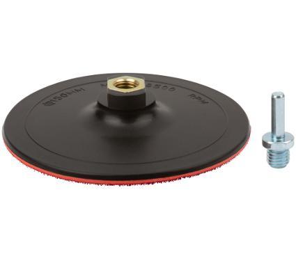 Тарелка опорная FIT 150мм М14 + адаптер (39626)
