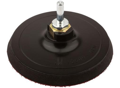 Тарелка опорная FIT 125мм М14 + адаптер (39627)