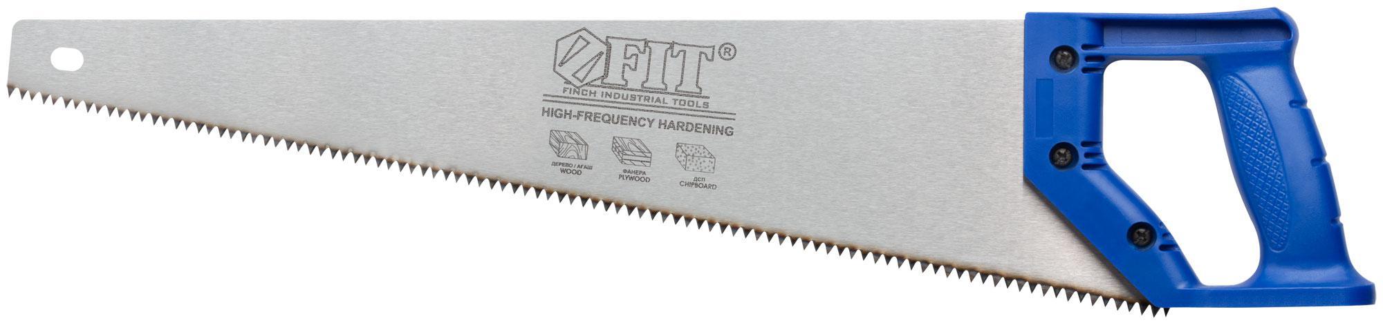 Ножовка по дереву Fit 40423 ножовка для гипсокартона 150 мм fit it 15377