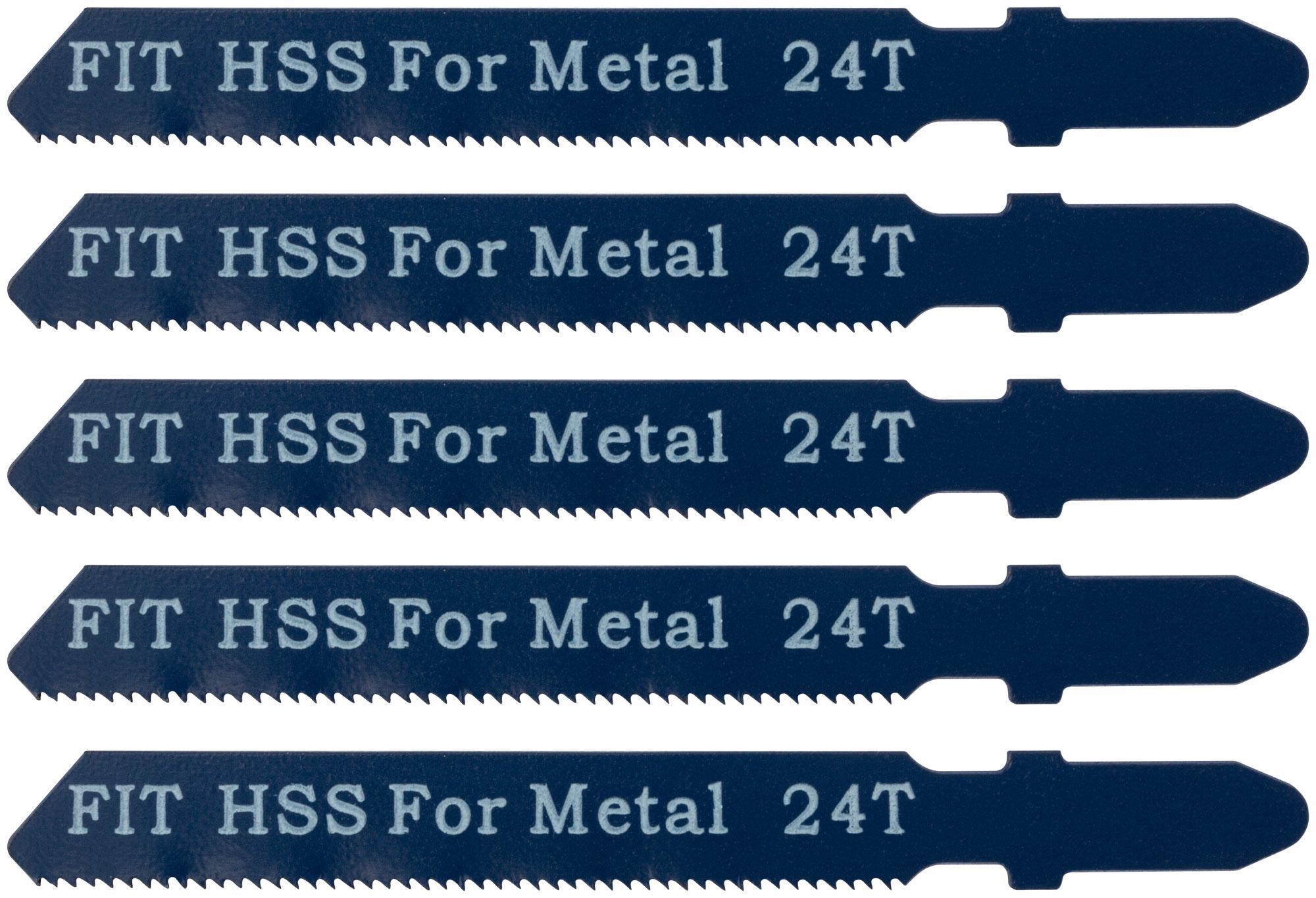 Пилки для лобзика Fit 41124 пилки для лобзика по дереву набор 5 шт стандарт