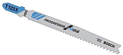 Пилки для лобзика Bosch T123x (5)progressor (2.608.638.473) пилки для лобзика по дереву для прямых пропилов bosch t101b 3 30 мм 5 шт