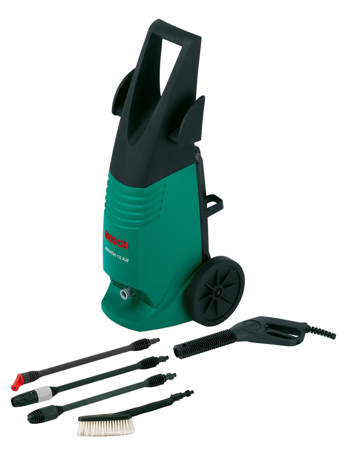 Мойка высокого давления Bosch Aquatak 110 plus - это выгодное решение. Потому что купить товары марки Bosch - это выгодно и недорого.