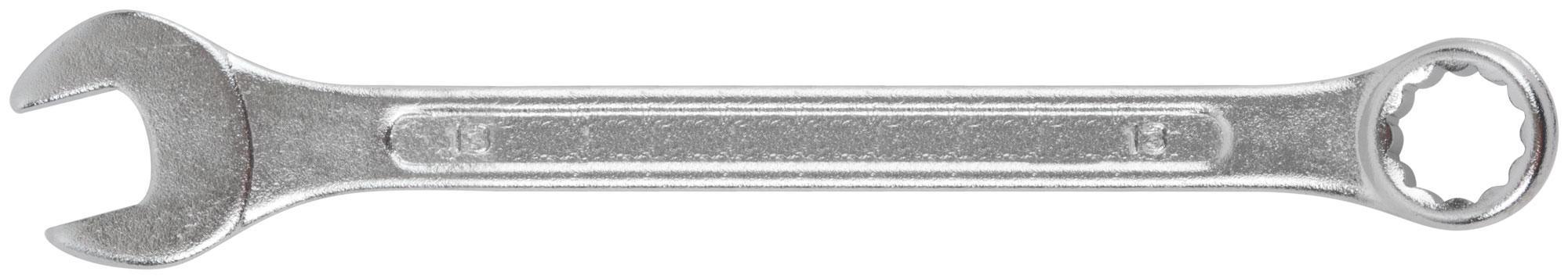 Ключ гаечный комбинированный Fit 63143 (13 мм) ключ комбинированный kraft 14 мм кт 700508