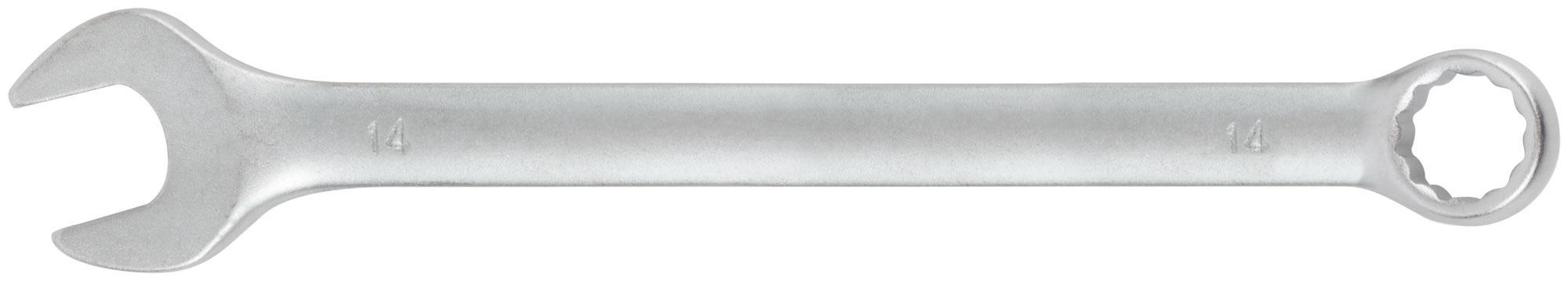 Ключ гаечный комбинированный Fit 63254 (14 мм) ключ комбинированный kraft 14 мм кт 700508