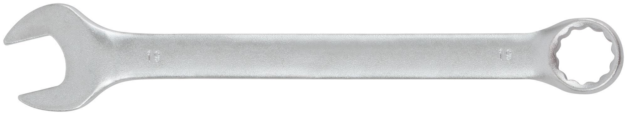 Ключ гаечный комбинированный Fit 63259 (19 мм) ключ комбинированный kraft 14 мм кт 700508