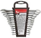 Набор комбинированных гаечных ключей, 12 шт. КУРС 63418 (6 - 22 мм)
