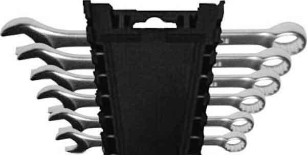Набор комбинированных гаечных ключей Fit 63422 (8 - 17 мм) набор ключей kroft 210106 8 17 мм