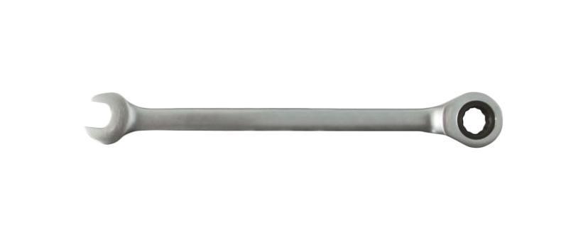 Ключ гаечный комбинированный с трещеткой 15х15 Fit 63465 (15 мм) ключ комбинированный kraft 14 мм кт 700508