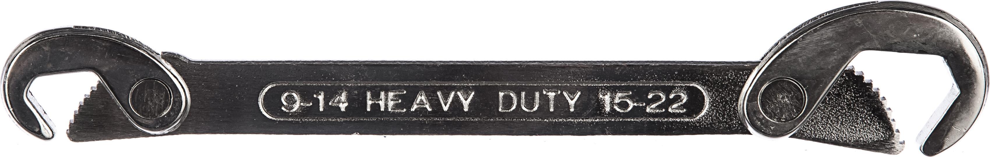 Картинка для Ключ трубный самозахватный Fit 63771 (9 / 22 мм)