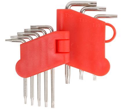 Набор торцевых ключей (звездочка TORX), 8 шт. FIT 64001