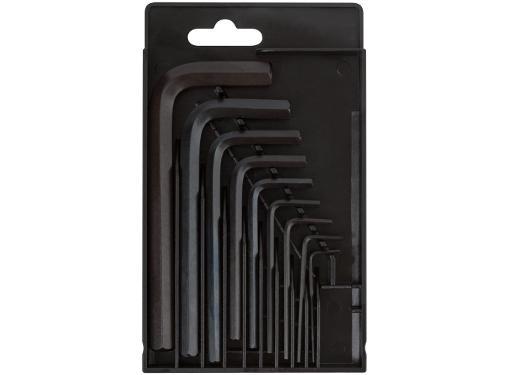 Набор торцевых шестигранных ключей, 9 шт. FIT 64185