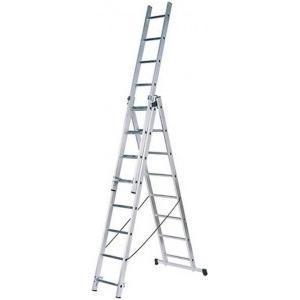 Лестница алюминиевая Fit 65432 лестница алюминиевая 6 м купить