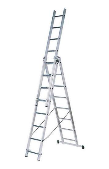 Лестница алюминиевая Fit 65434 лестница алюминиевая 6 м купить