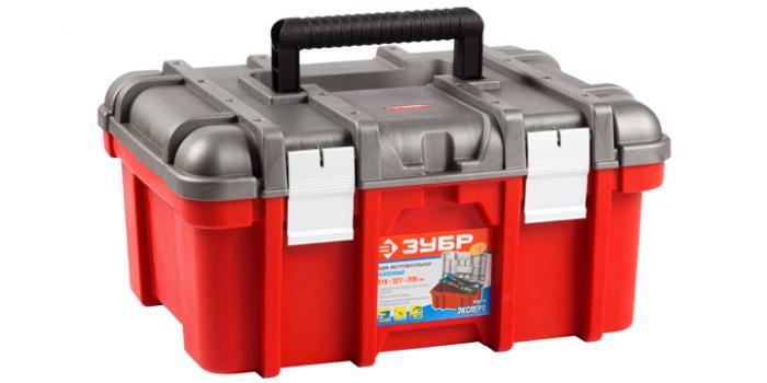 Ящик для инструментов ЗУБР 38132-22 ящик для инструментов зубр 16 эксперт 38132 16