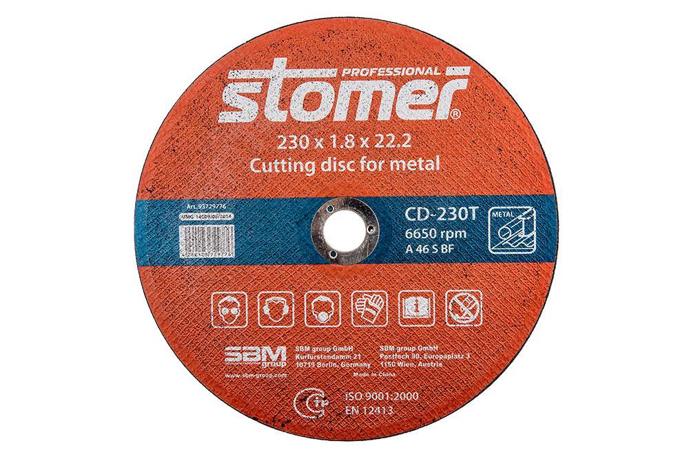 цена на Круг отрезной Stomer Cd-230t