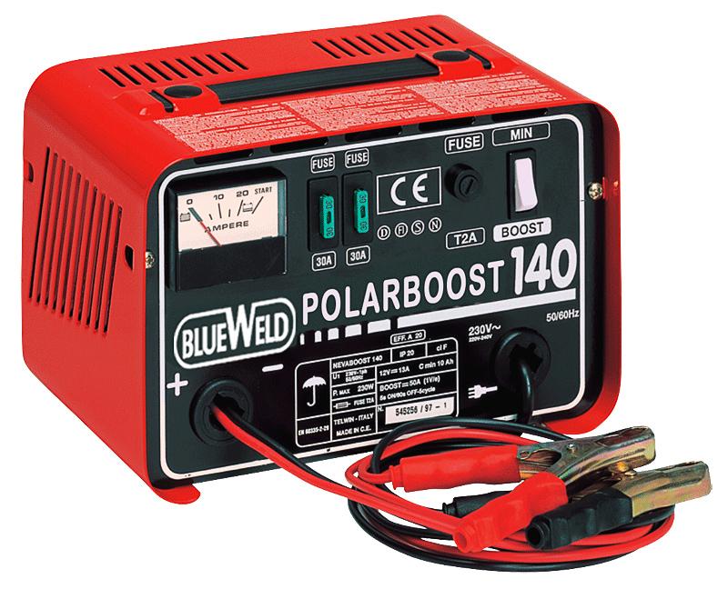 Зарядное устройство Blueweld Polarboost 140 зарядное устройство blueweld polarboost 140 230v 12v 230 вт 807805
