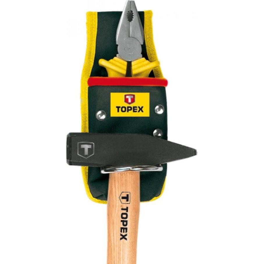 Сумка поясная для инструмента Topex 79r420  с петлей для молотка