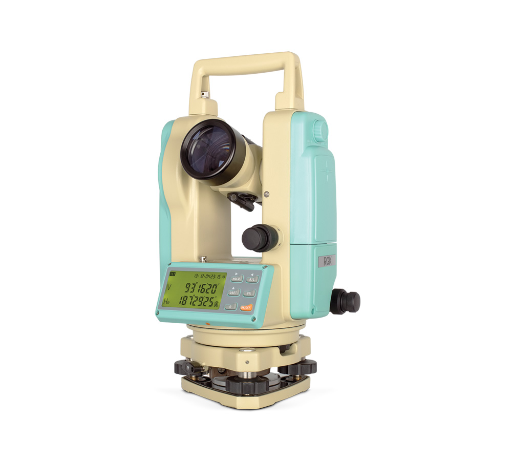 Теодолит электронный Rgk T-02 оптический теодолит rgk to 02